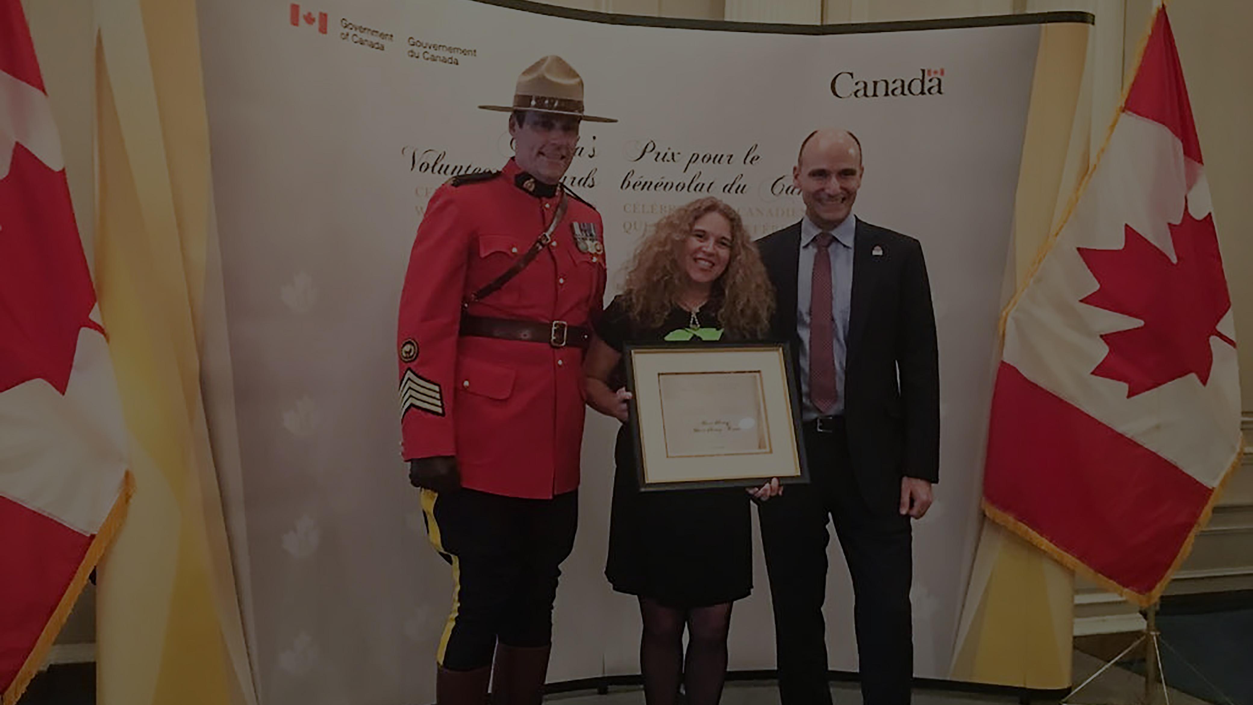 2017 Canada's Volunteer Awards recipient